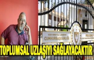 UBP Taşkınköy Örgüt Başkanı Cemal Esemen tebrik...