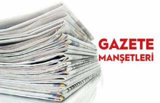 14 kasım gazete manşetleri