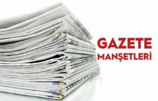 26 Kasım Gazete Manşetleri