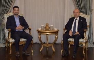 Cumhurbaşkanı Tatar, Halkın Partisi Genel Başkanı...
