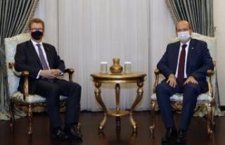 Cumhurbaşkanı Tatar, İngiliz Yüksek Komiseri Lillie'yi...