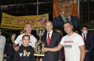 Cumhurbaşkanı Tatar, İrsen Küçük Turnuvası...