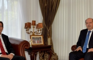 Cumhurbaşkanı Tatar, Merkez Bankası Başkanı Rifat...