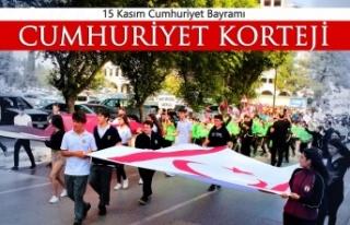 Cumhuriyet Bayramı kutlamaları çerçevesinde bugün...