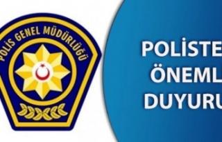 Gazimağusa Polis Müdürlüğü'nün telefon hattı...