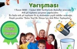 KAV, İlkokullar arası atık pil toplama yarışması...