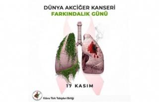 KTTB: Akciğer kanseri dünyada ve ülkemizde giderek...