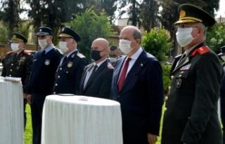Narkotik polislerinin ödüllendirme töreni Cumhurbaşkanlığı'nda...