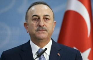 TC Dışişleri Bakanı Çavuşoğlu, Cumhurbaşkanı...