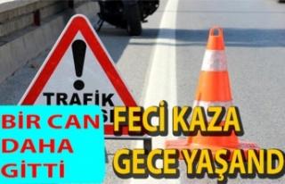 Akdoğan – Yiğitler yolu üzerinde ölümlü kaza:...