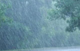 Alayköy dün en çok yağış alan bölge oldu