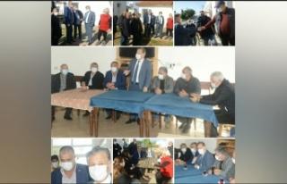 Bakan Pilli, Esentepe bölgesini ziyaret etti