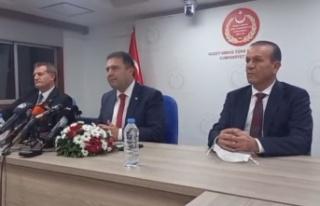 Başbakan Saner ve hükümet ortakları Ankara'ya...