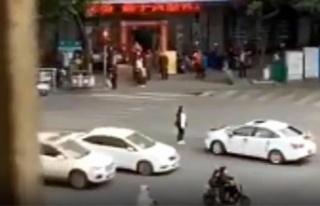 Çin'de bir kadın eski erkek arkadaşının...