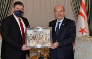 Cumhurbaşkanı Tatar, eski başkanı olduğu YAK...