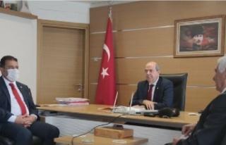 Cumhurbaşkanı Tatar ve Başbakan Saner Güzelyurt...