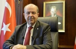 Cumhurbaşkanı Tatar'dan yeni yıl mesajı:Kıbrıs'ta...
