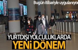 KKTC'den Türkiye'ye ilk PCR testli yolcular...