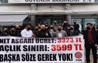 KTAMS, Asgari Ücret Tespit Komisyonu'nun toplanması...