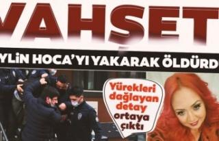 Maltepe'de öldürülen akademisyen Aylin Sözer...