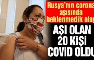 Rusya'nın Covid-19 aşısını olan 20 kişi corona...