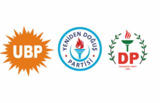 Saner, UBP-DP-YDP kabinesini bugün Cumhurbaşkanı'na...
