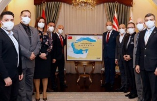 Tatar:Doğu Akdeniz'de yaşanan gelişmelerle KKTC'nin...