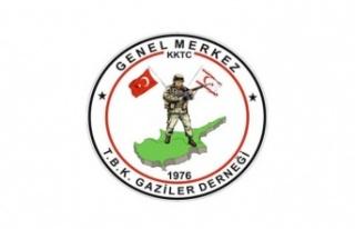 TBK Gaziler Derneği: Ercan Havalimanı'nın isminin...