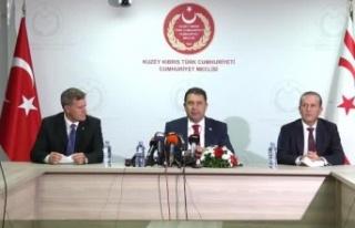 UBP-DP-YDP Koalisyon Hükümeti Protokolu imzalandı