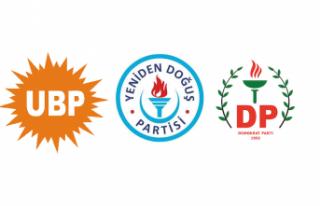UBP-YDP-DP Koalisyon Hükümetinin kurulmasına ilişkin...