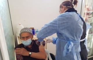 80 Yaş ve üzeri kişiler için Covid-19 aşıları...