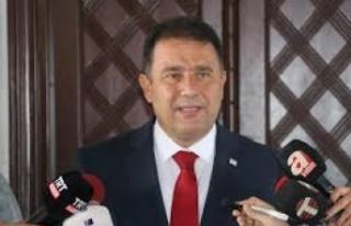 Başbakan Ersan Saner, erken seçim çağrısında...