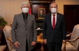 Cumhurbaşkanı Tatar, Prof. Dr. Ata Atun'u Kabul...