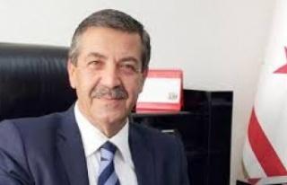 Dışişleri Bakanı Ertuğruloğlu Bugün Ankara'da...