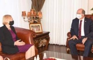 Ersin Tatar, bugün Spehar ile görüşecek
