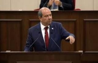 """Ersin Tatar: """"Resmi müzakereler ancak iki eşit..."""