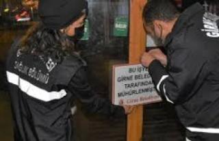 Girne Belediyesi, 436 İş yerini Denetledi