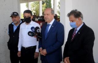 İlk aşıyı Cumhurbaşkanı Tatar ve Sağlık Bakanı...