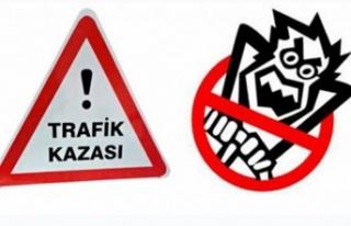 İskele-Karpaz Anayolu'da Korkutan Kaza