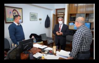 Önder Sennaroğlu, Meclis personeli ile bir araya...