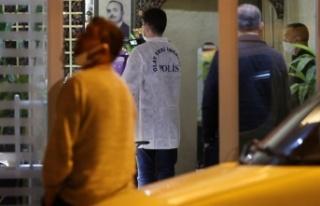 Otelde bir kadın boğularak öldürüldü