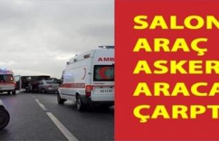 Yeniceköy Kavşağında Korkutan Kaza