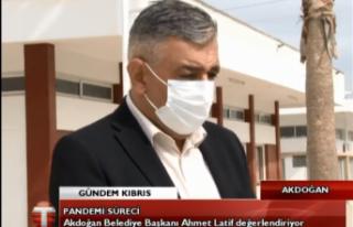 CANLI: Akdoğan Belediye Başkanı Ahmet Latif pandemi...