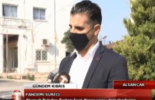 """Alsancak Belediye Başkanı Fırat Ataser """"Bölgemizdeki..."""