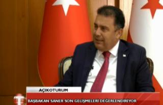 """Başbakan Ersan Saner: """" Polislerin birinci doz..."""