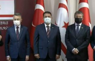 Başbakanlıkta bir dizi anlaşmaya imzalar atıldı.....