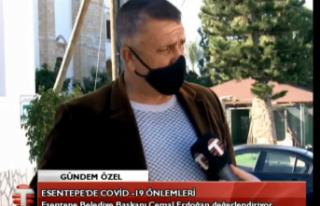 CANLI Esentepe Belediye Başkanı Cemal Erdoğan Esentepe'de...