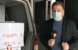 CANLI: Türkiye'den 40 bin doz Sinovac aşısı...