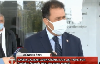 CANLI:Başbakan Ersan Saner Açıklama Yapıyor