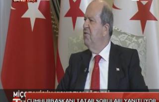 CANLI:Cumhurbaşkanı Ersin Tatar Soruları Yanıtlıyor